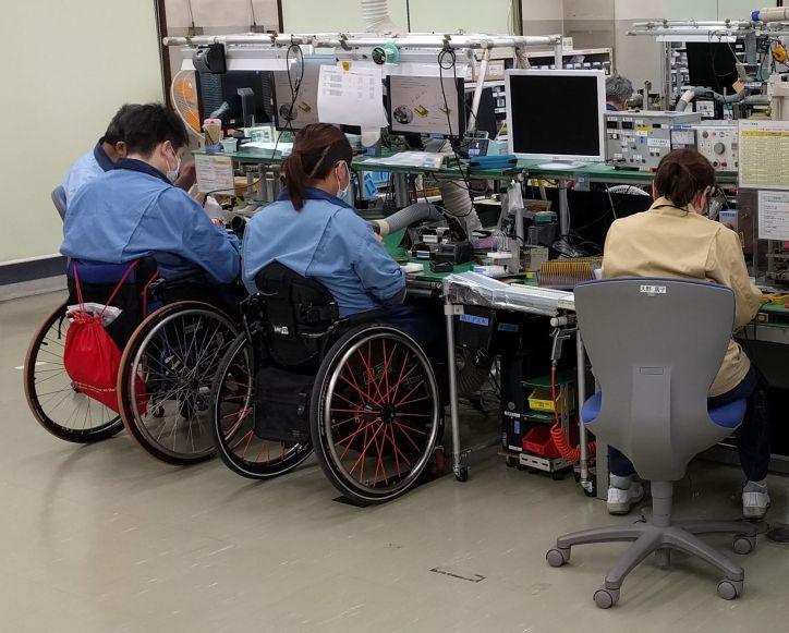 Omron Taiyo Kyoto Workers
