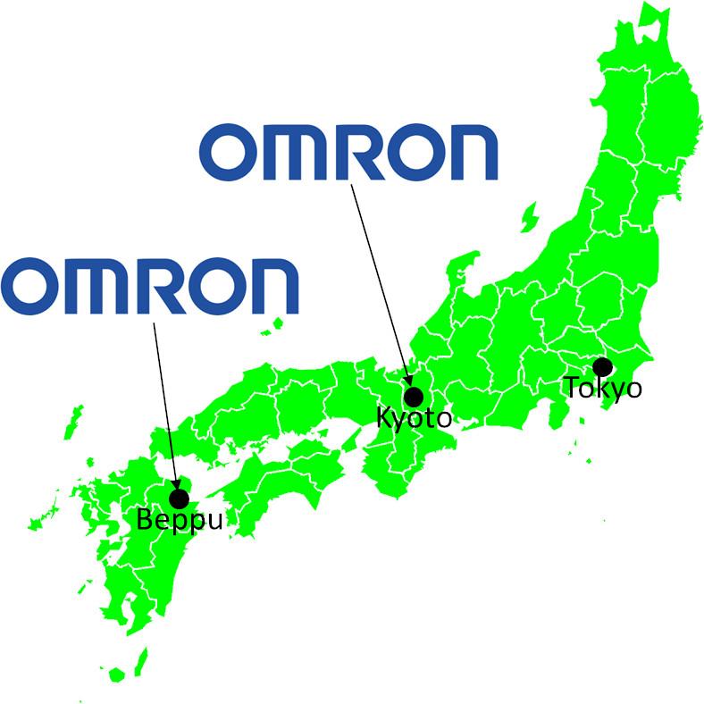 Omron Taiyo Locations