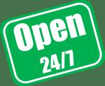 Open 24-7