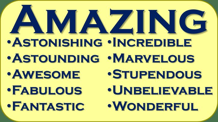 Amazing synonyms image
