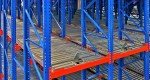 Warehouse rolling rack