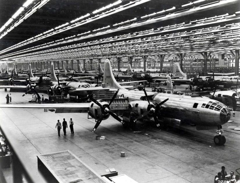 Boeing Assembly Line 1944