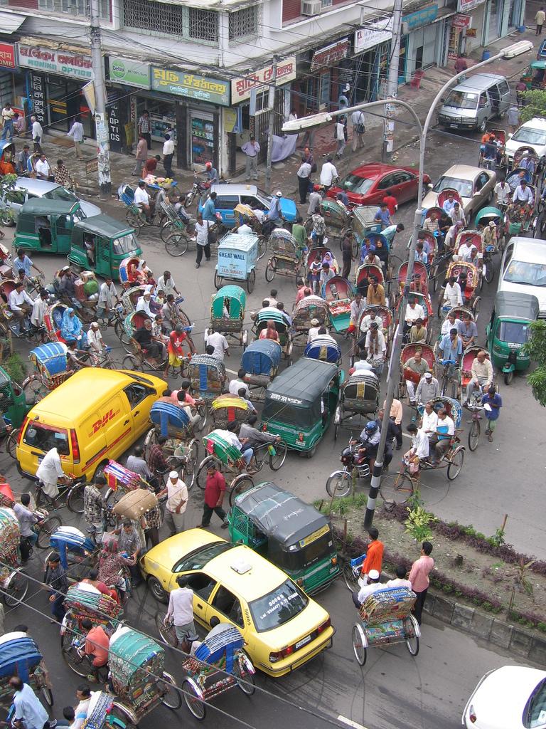 Traffic Dhaka