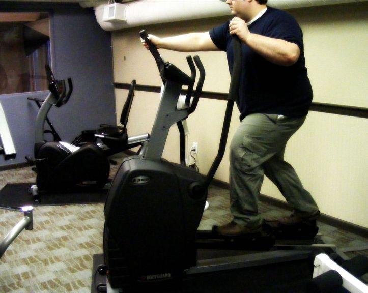Exercising Weight