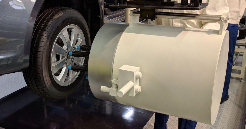 Suzuki Tire Assembly