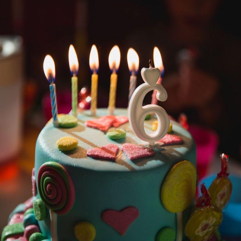 6th Birthday Cake