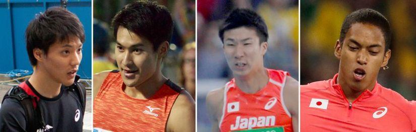 Japan Winning Team Relay Rio 2016