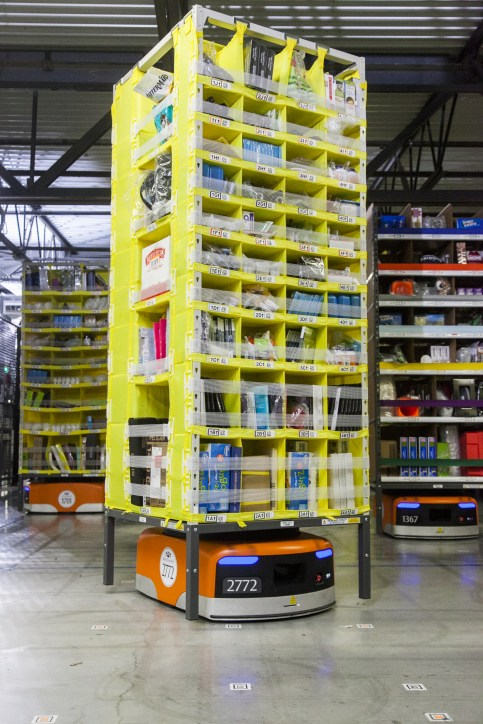 Amazon Kiva with Pod
