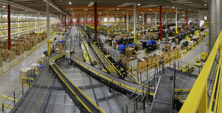 Amazon Warehouse Floor
