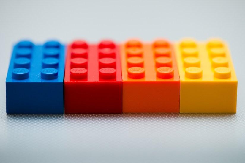 4 Lego Bricks
