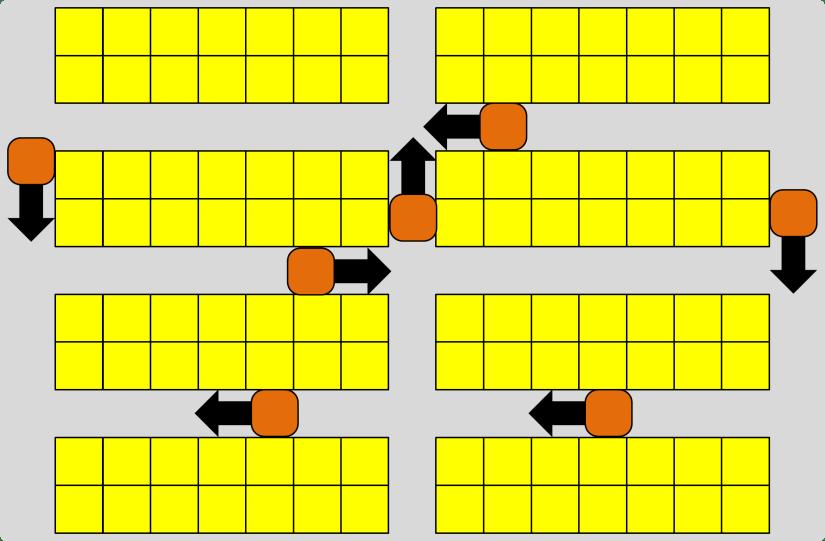 Kiva One Way Roads