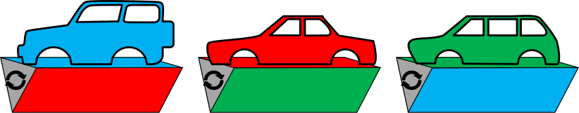 Toyota Triangular Clamp Base