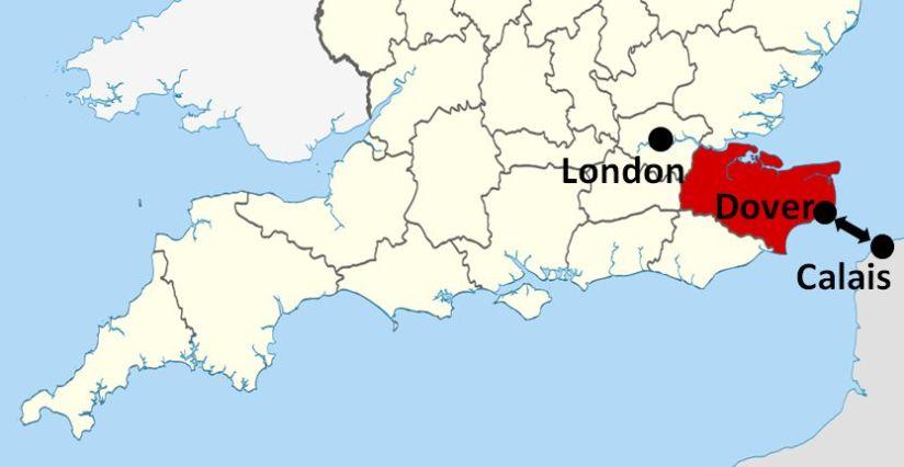 Kent Dover Calais