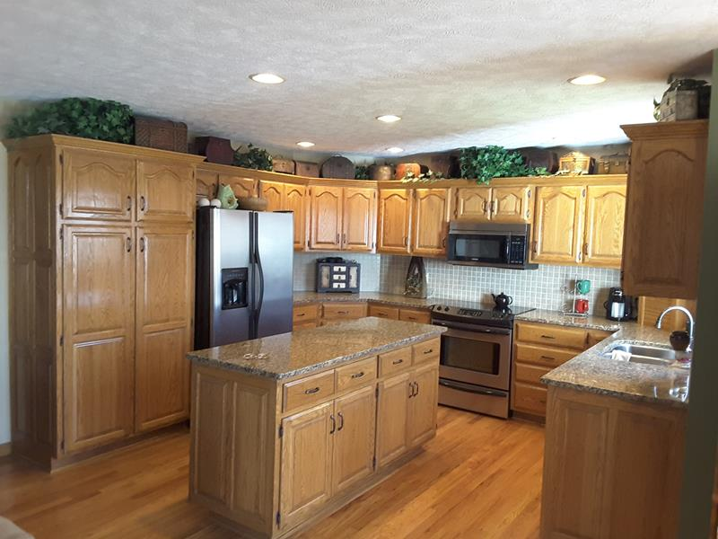 Interior Trim Conversion and Cabinet Painting  Pin Oak Dr