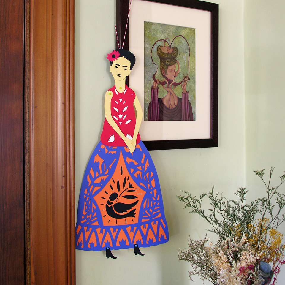 Introducing a DIY Frida Kahlo Paper Doll.