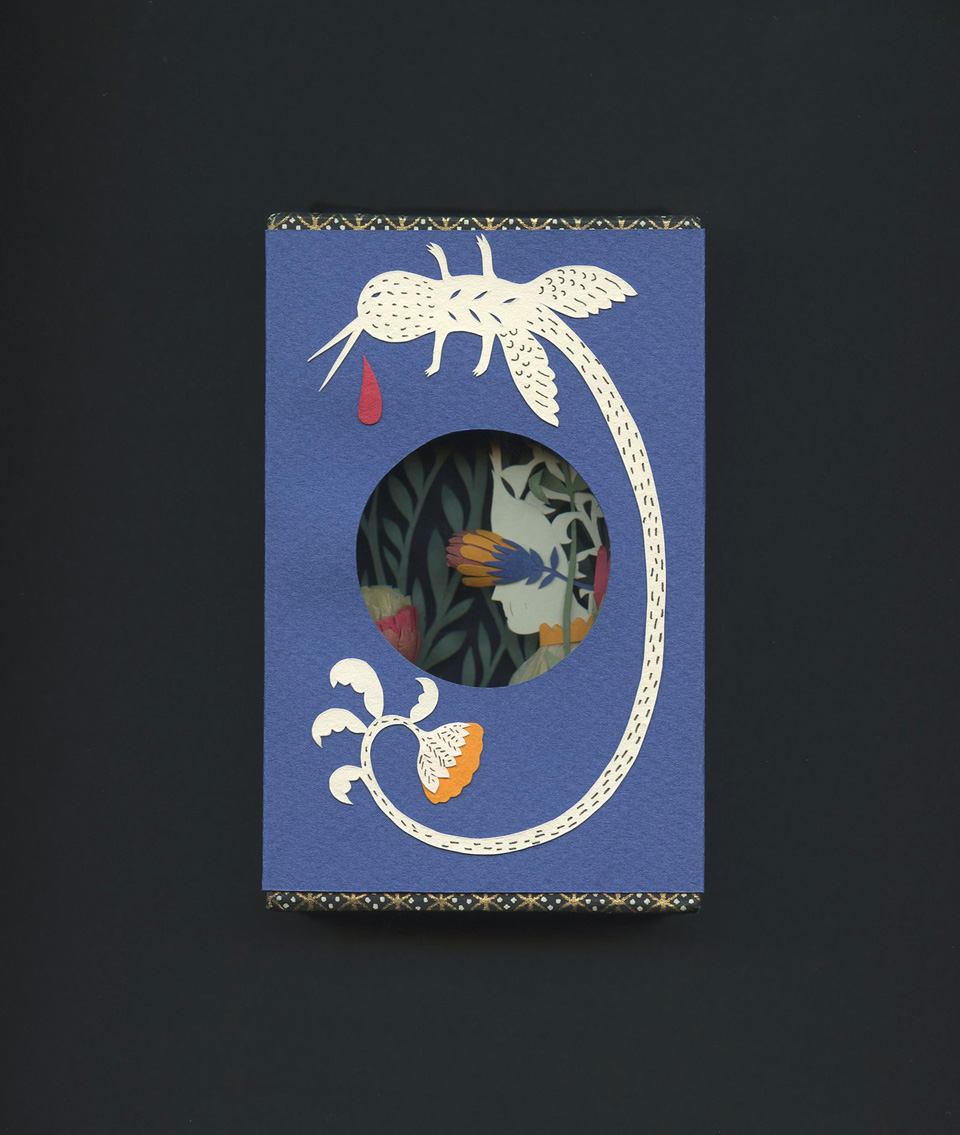 Miniature book by Elsa Mora