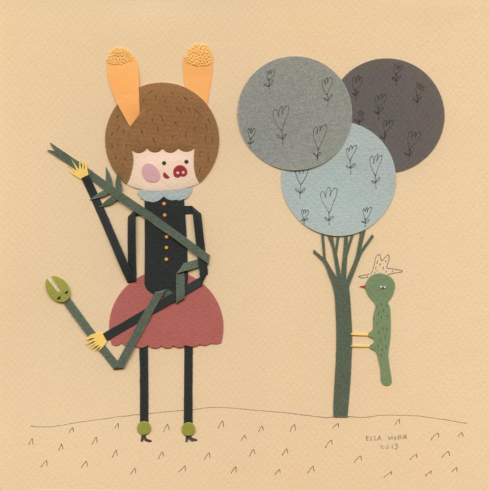 Paper illustration by Elsa Mora 2