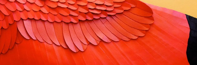 Paper Birds by Diana Beltran Herrera.