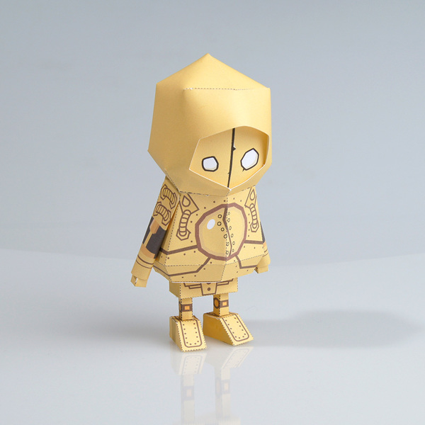 Paper Toys by Boogie Hood.