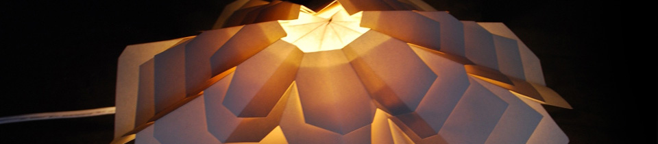 Beautiful Paper Lamps by Different Artists.