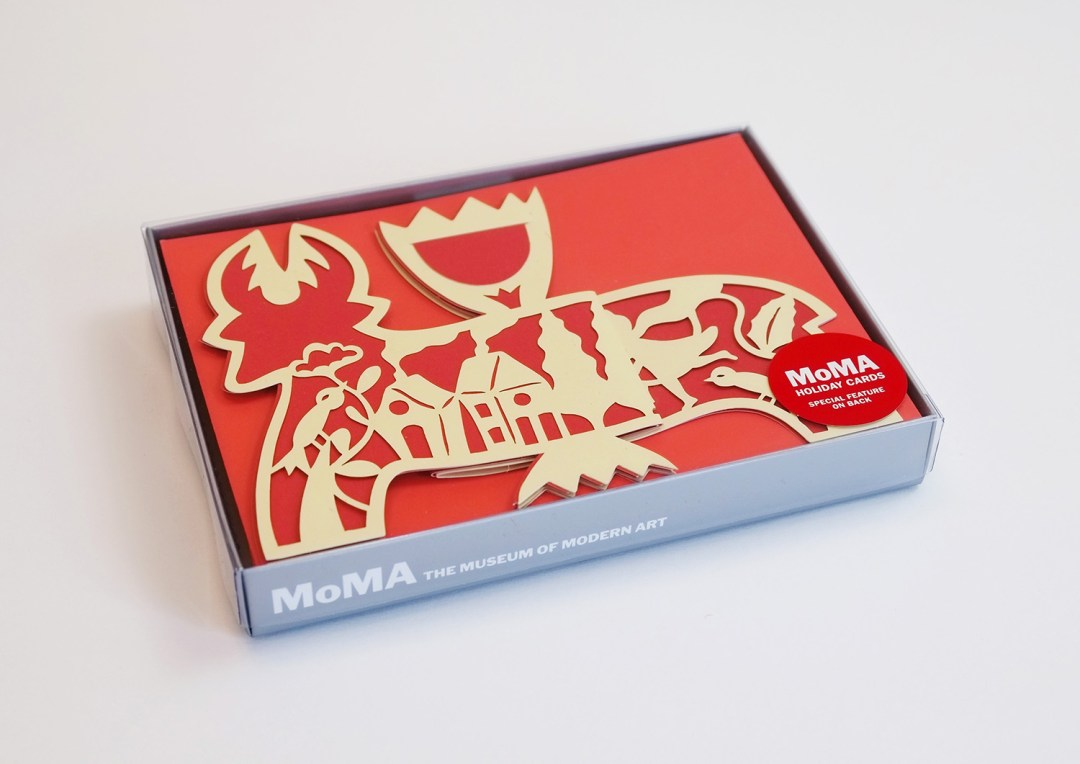 My New Holiday Card for the MoMA is now Available!