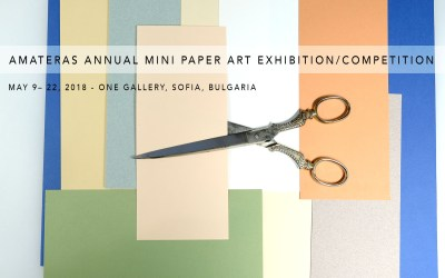 AMATERAS Announces its Annual Mini Paper Art Exhibition/Competition