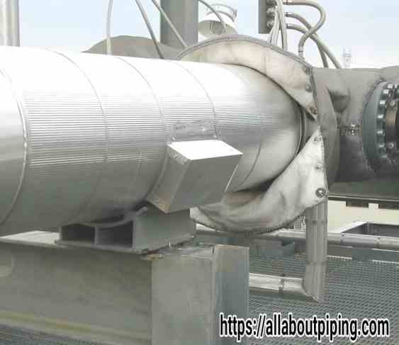 Hot insulation Support