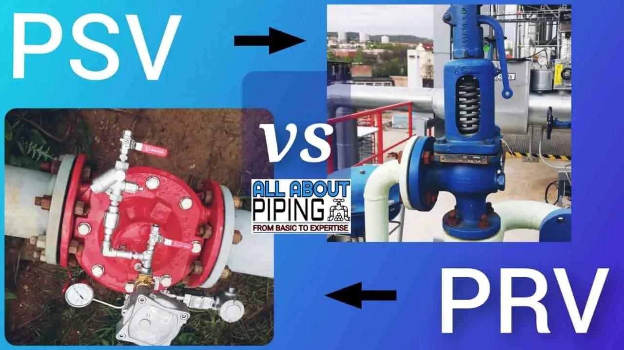 PSV vs PRV