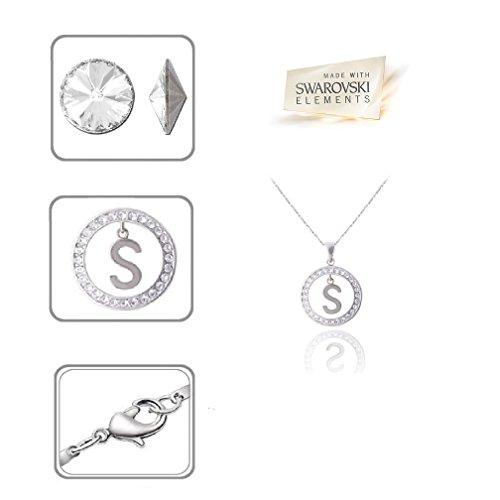 "Swarovski Crystal Elements Alphabet Initial Letter ""S"