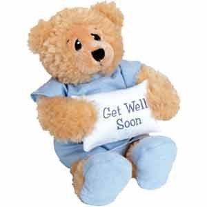 11 plush patient bear