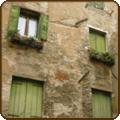 Window Shutters – Vernazza, Italy