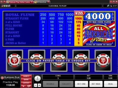 All About Slots - Platinum Play Casino Review - Bonus ...
