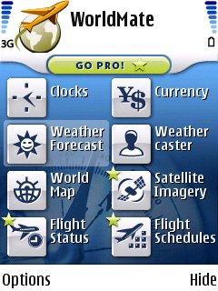 Weather feature screenshot