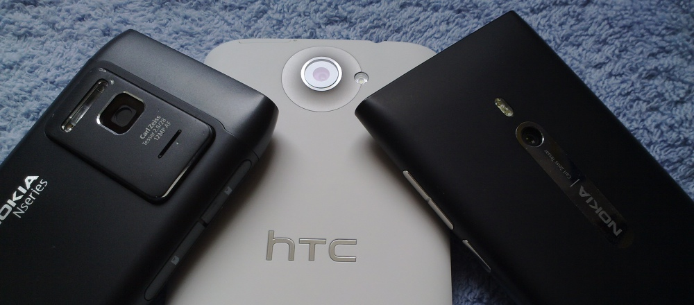 N8 vs One X vs Lumia 800