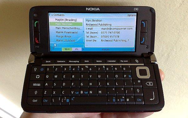 The Nokia E90