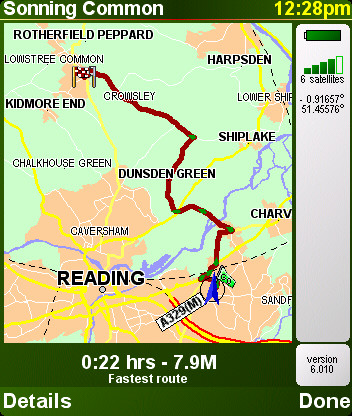 TomTom 6 screenshot