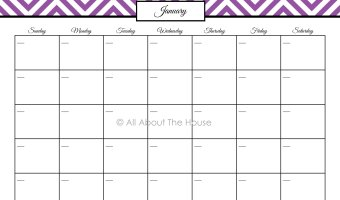 Calendars and To Do Lists – Household Binder