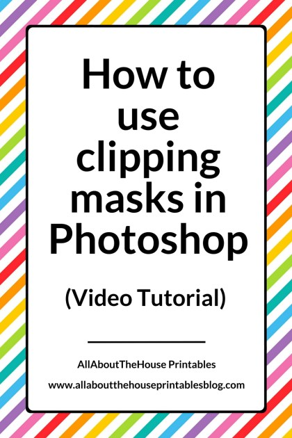 how to use clipping masks in photoshop word art pattern overlay digital paper graphic design surface design illustator ecourse photoshop for beginners