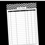 Free printable online shopping tracker – editable planner printable