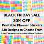 BLACK FRIDAY SALE plus an exclusive discount for blog readers