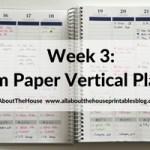 Plum Paper Vertical Planner – Better than the Erin Condren? (52 Planners in 52 Weeks – Week 3)