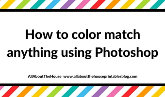 How to color match anything in Photoshop (step by step tutorial)