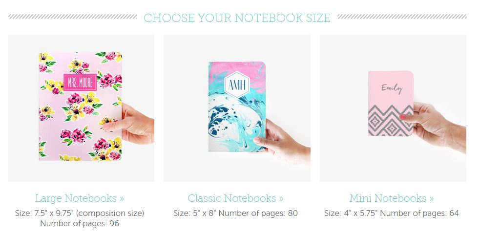 may designs customisable notebook review