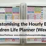 Customising the Erin Condren Hourly Planner for task based planning (52 Planners in 52 Weeks – Week 9)