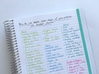 130+ functional ideas to use blank notes pages of your ...