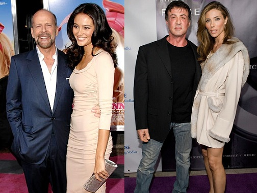 Are Bruce Willis And S...