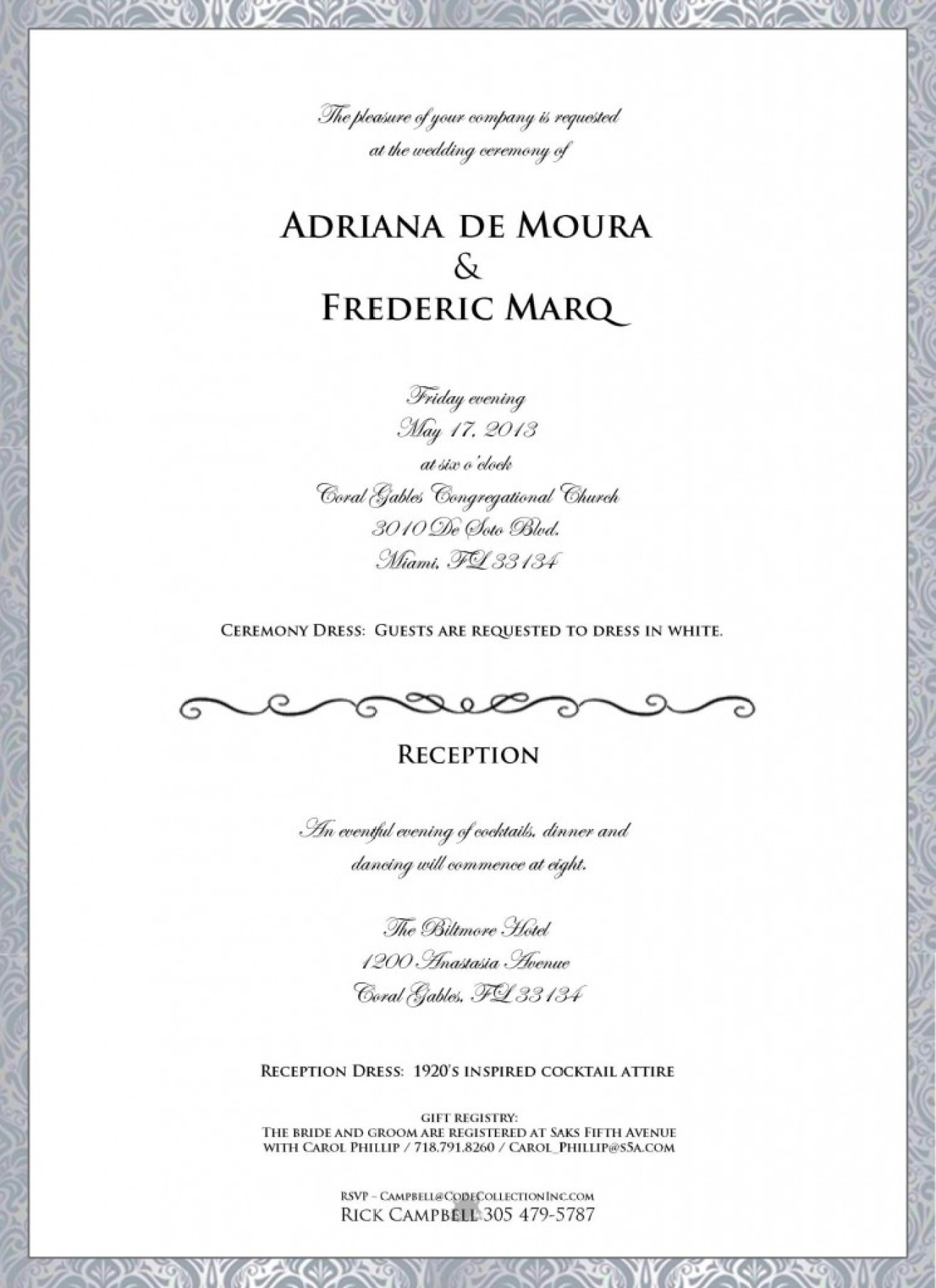Adriana de mouras wedding invitation leaks producers enforce check out the invitation and the mood board that comes along with it adrianaweddinginvitation stopboris Images