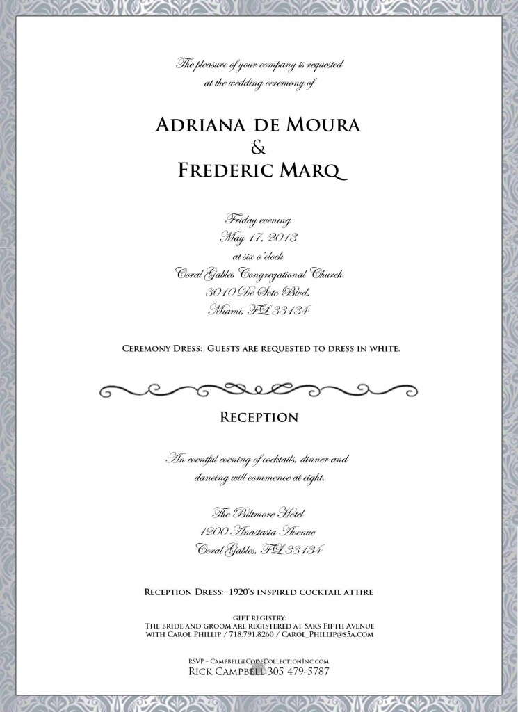 Check Out The Invitation And The U201cmood Boardu201d That Comes Along With It:  AdrianaWeddingInvitation