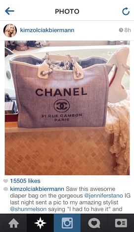 kim diaper bag