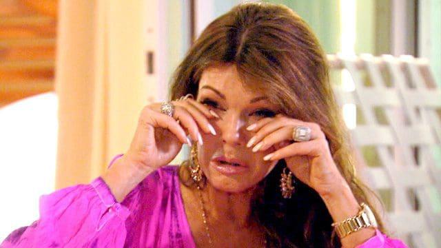 lisa crying